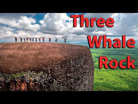 """3 Whale Rock "" Hin Sam Wan cliff at Phusing, Buengkan : Unseen Thailand"