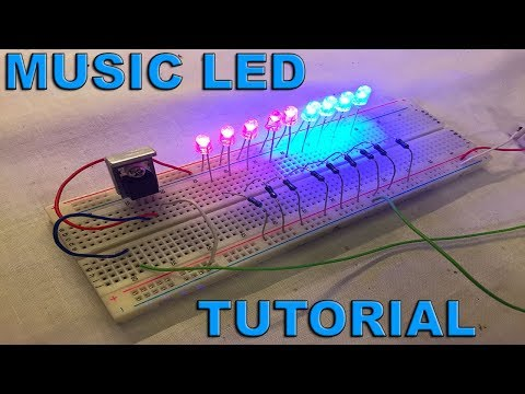 TIP31 Music LED Tutorial - By STE
