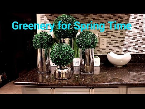 Spring Time Greenery. Spring decor ideas. Spring is Coming!