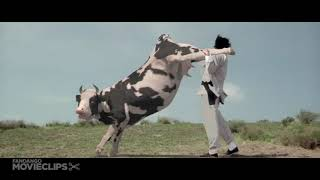 Kung Pow  Enter the Fist 4 5 Movie CLIP   Cow Fight 2002 HD