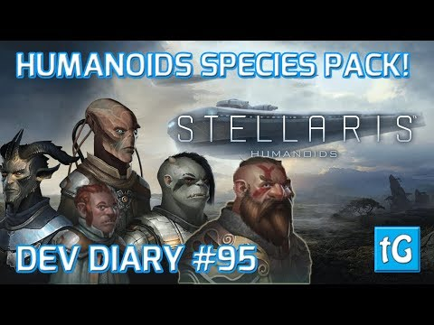 Stellaris Dev Diary #95 SPECIES PACK:...