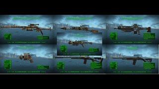 Fallout 4 ТОП 7 Не Вошедшее Оружие