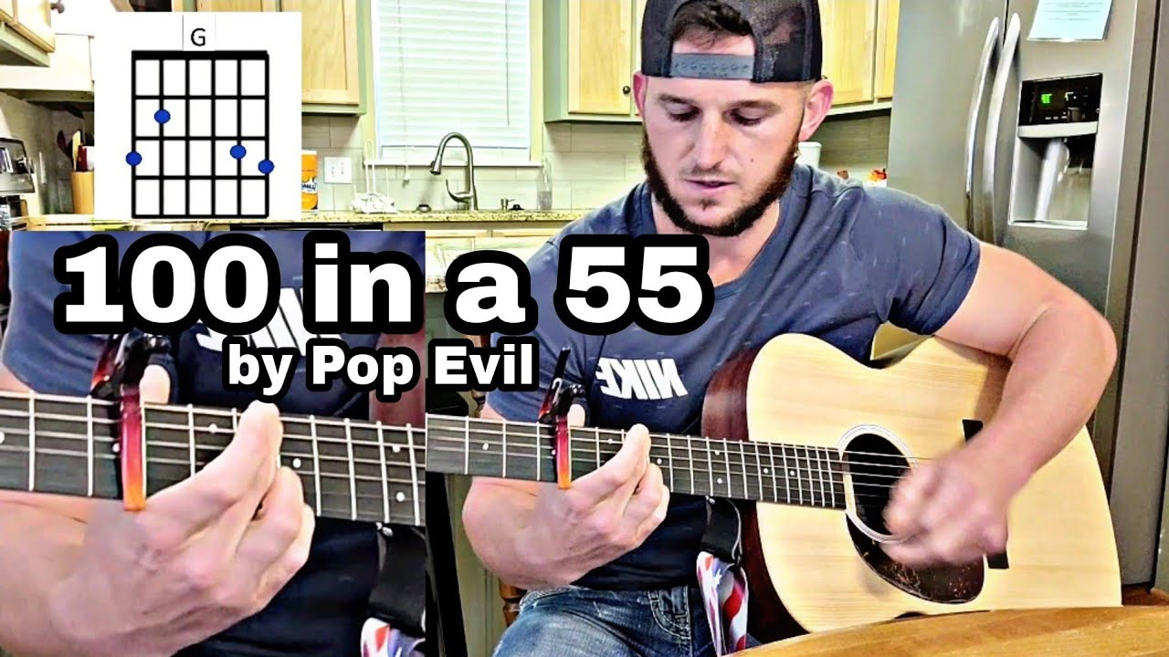 How to play 15 in a 15 by Pop Evil using 15 easy chords
