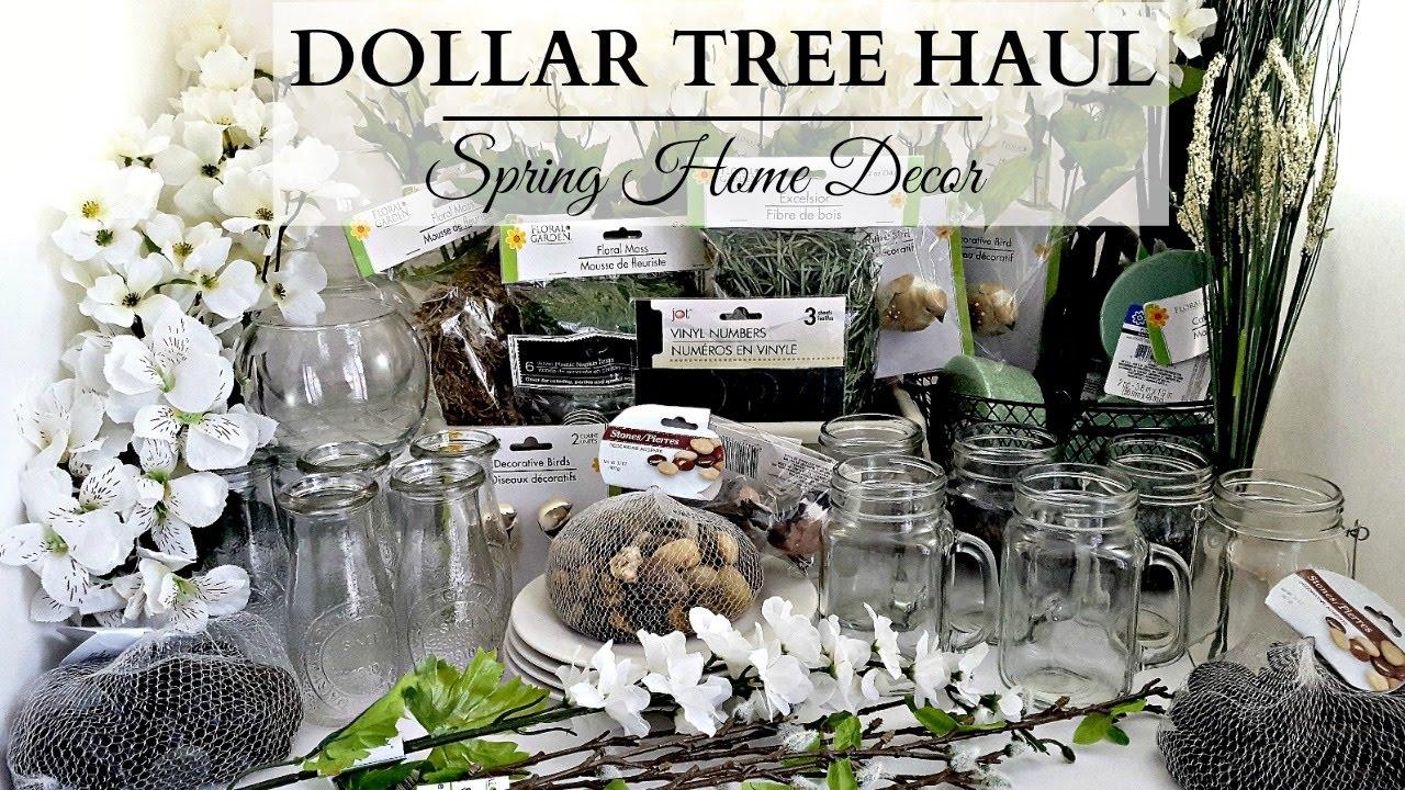 Dollar Tree Haul Earth Tone Spring Home Decor Youtube