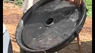 Fertilizante con excremento de vacuno. Canal Agrario La Palma