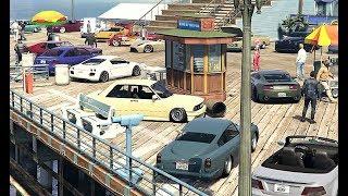 INSANE GTA 5 ONLINE CAR MEET