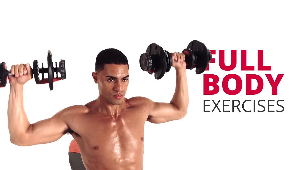 Work Out At Home Easy Try Bowflex 552 Dumbbells Youtube