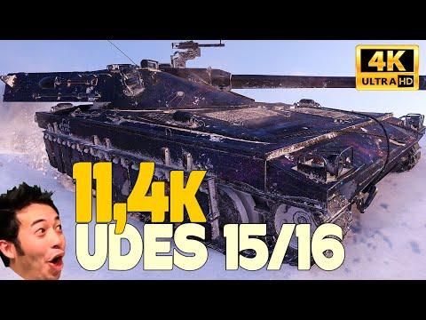 UDES 15/16: REAL TEAM PLAYER - World of Tanks