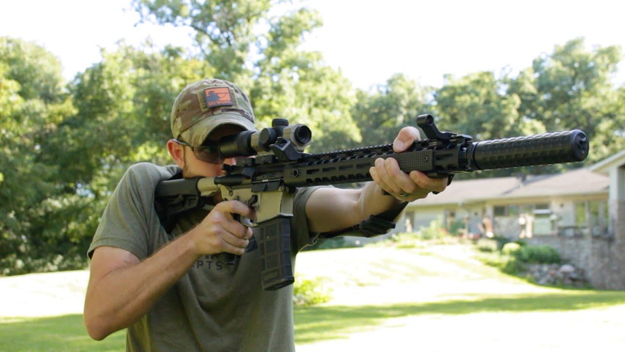 Griffin Armament Low Pro Rigid MLOK AR-15 Rail