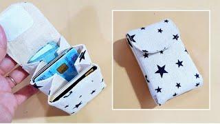 Easy card holder DIY TUTORIAL丨卡片包制作教学 #HandyMum ❤❤