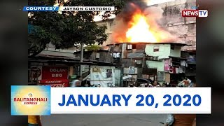 Balitanghali Express: January 20, 2020 [HD]