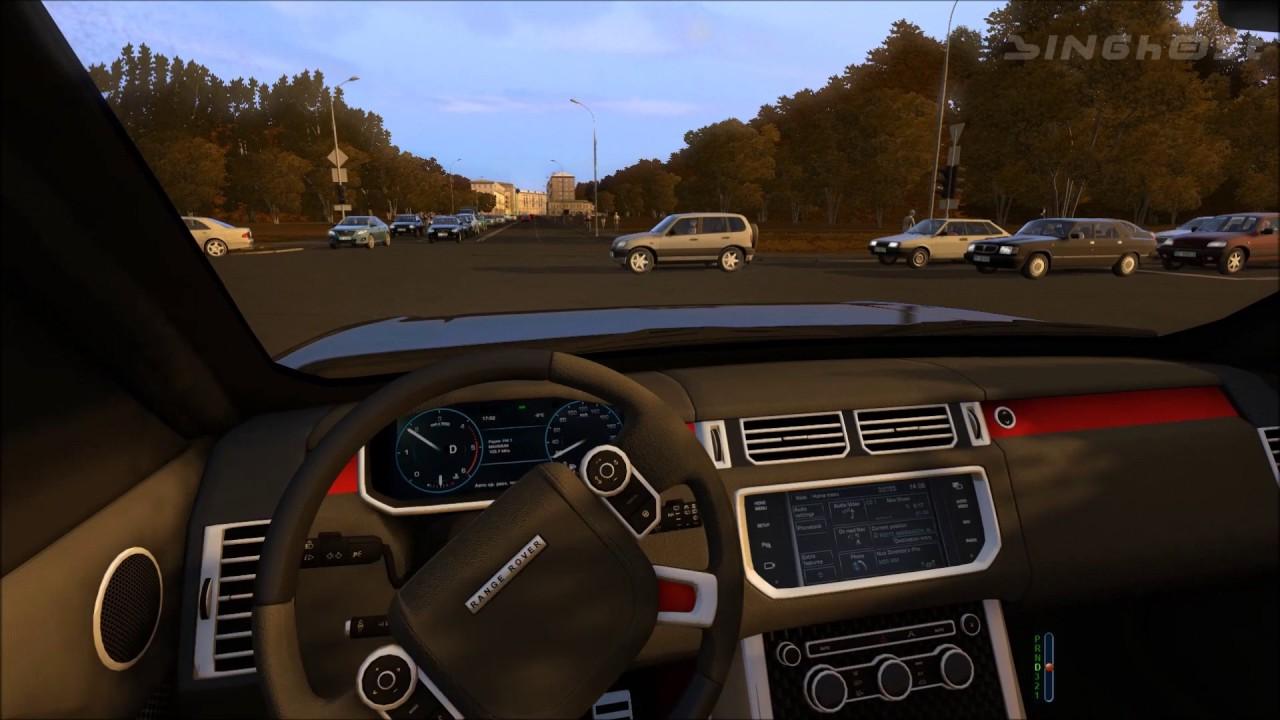 Range Rover Sport City Car Driving