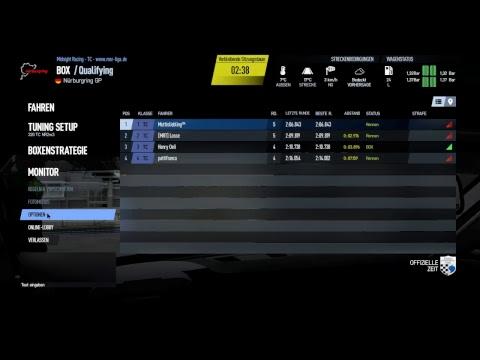 Touring Car Test Pimax 4k VR