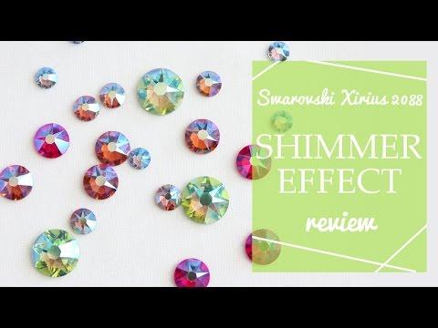 Latest Swarovski Rhinestones! - Shimmer Effect Xirius 2088 Review