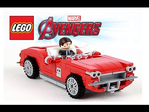 Lego Marvel Super Heroes Agent Coulson NEW from set 76077