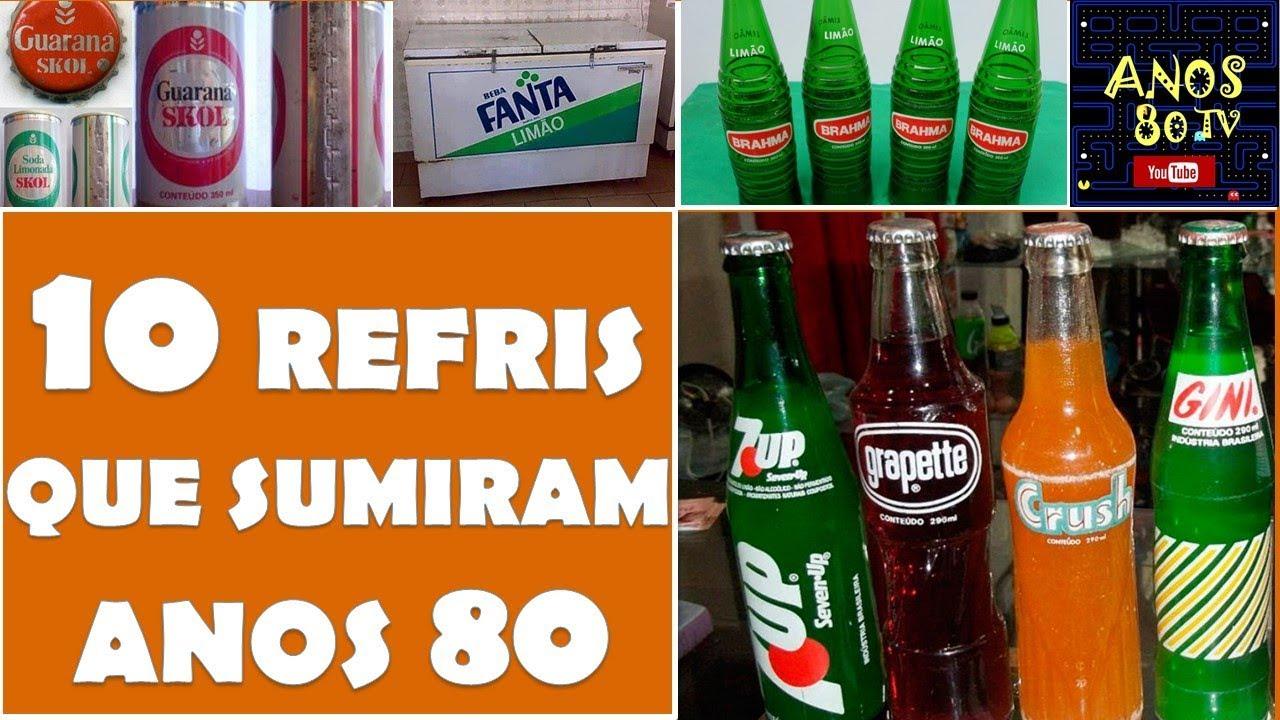 874b3167d 10 Refrigerantes que sumiram depois dos Anos 80 - YouTube