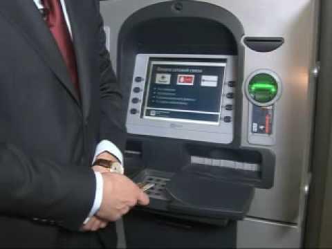 Банк Возрождение. Открытие депозита на банкомате