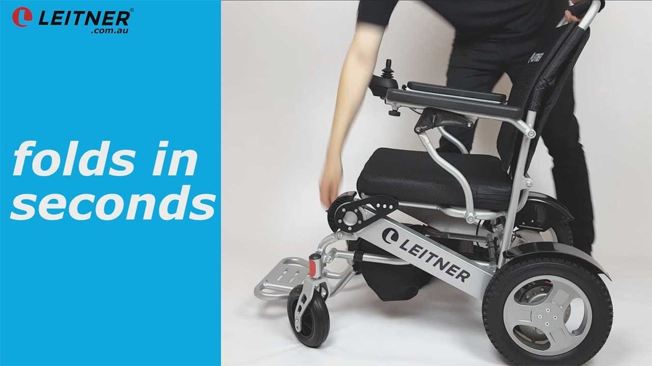 2595 Electric Wheelchair Folding And Light Weight