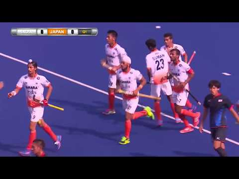 India v Japan Day 1 Sultan of Johor Cup 2017