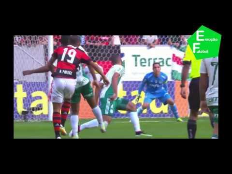 Flamengo 1 x 2 Palmeiras - Gols Campeonato Brasileiro 05-06-2016