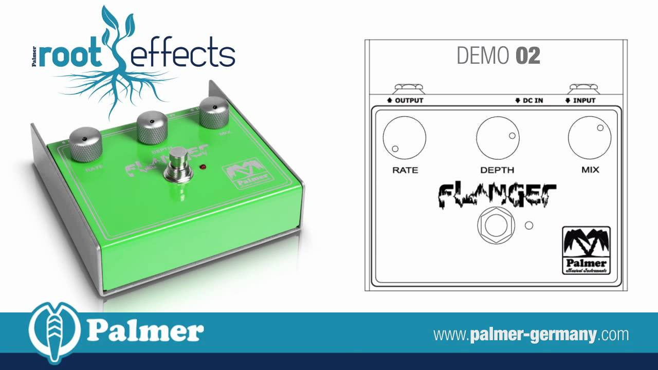 hight resolution of palmer root effects flanger