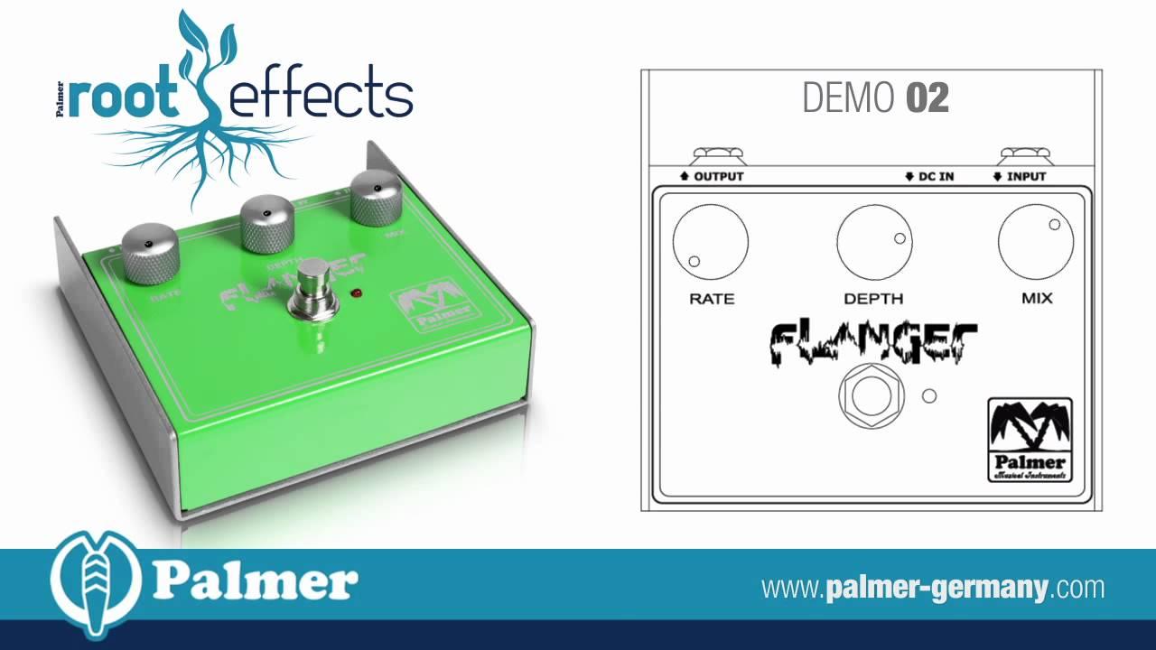 palmer root effects flanger [ 1280 x 720 Pixel ]