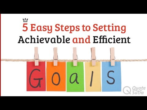 5 Steps to Setting Most Efficient and Achievable SMART Goals