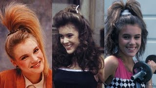 Top 10 Hairstyles You Totally Wore in the '80s. Most Iconic and Best Hairstyles of the 1980s