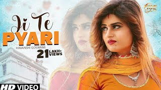 Ji Te Pyari | Vinod Morkheriya | Himanshi Goswami | Latest Haryanvi Songs Haryanvi 2018 | Mg Records