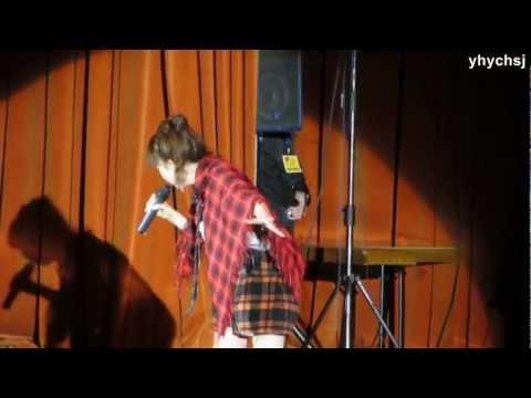 [fancam] Makino Yui - Synchronicity (Live J-FEST 2012 Moscow)