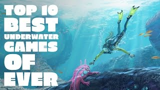 Gambar cover Top 10 underwater games of ever