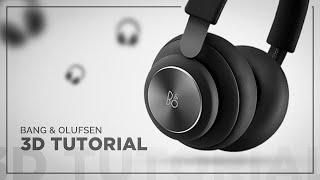 Headphones 3D Modeling Tutoria…