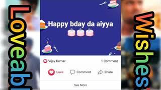 My birthday wishes...