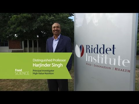 Distinguished Professor Harjinder Singh explains the science behind his Food Science programme