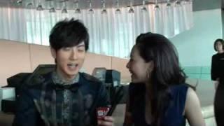 Wu Chun & Kate Tsui short interview