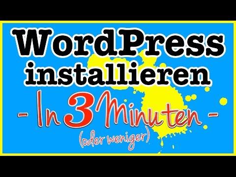 WordPress installieren – In weniger als 3 Minuten mit Alfahosting zur eigenen Website