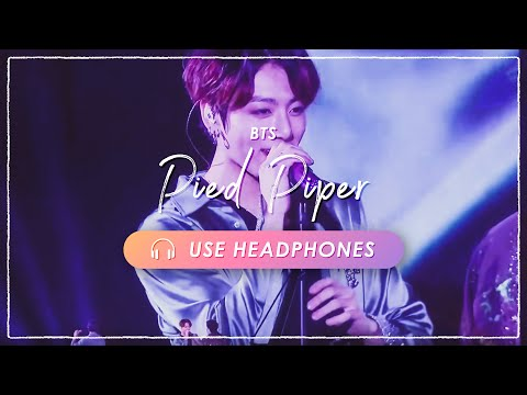[8D + LIVE] BTS  Pied PiperCONCERT EFFECT [USE HEADPHONES]  ENG SUB