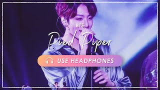 [8D + LIVE] BTS - Pied Piper|CONCERT EFFECT💿 [USE HEADPHONES] 🎧 ENG SUB
