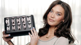 HOT ROLLERS in 2021?! How I Style My Hair with Hot Rollers   Amanda Steele