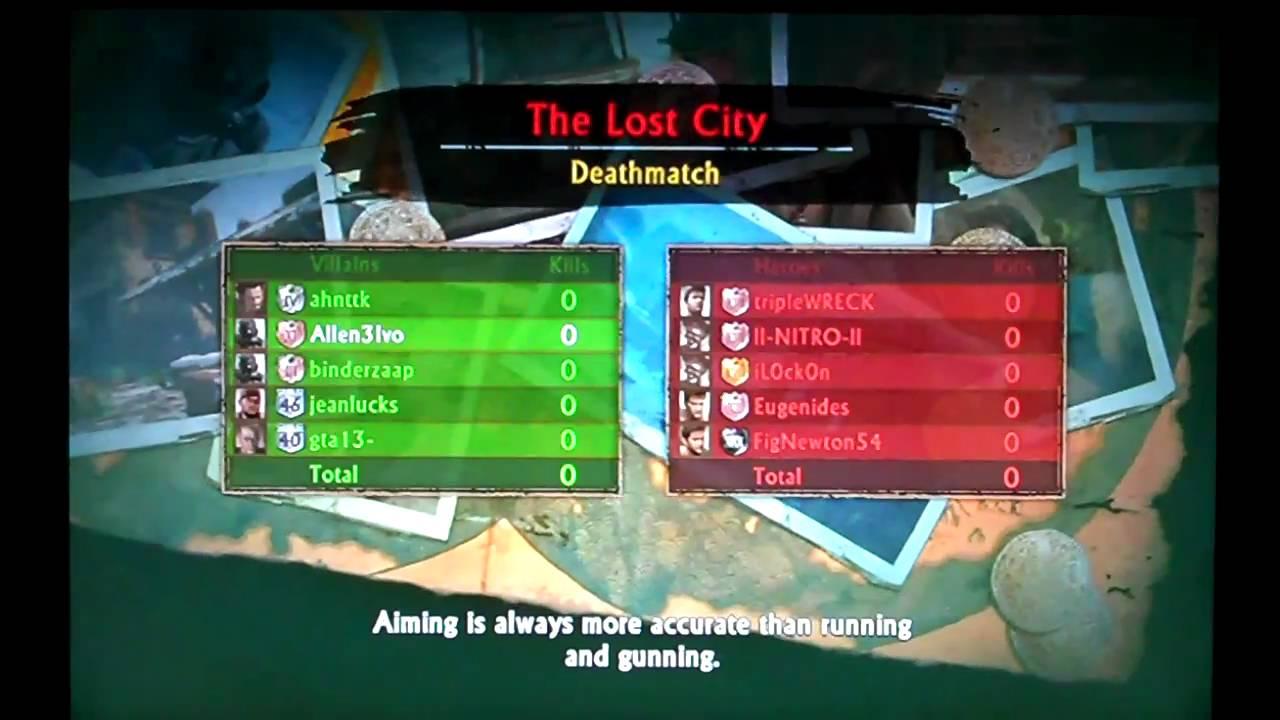 Matchmaking Uncharted 2