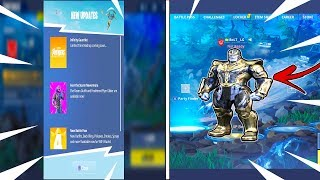 "*AVENGERS* FORTNITE SKINS! ""GAUNTLET LTM GAMEMODE"" *Thanos* Fortnite Skin! (Fortnite Battle Royale)"