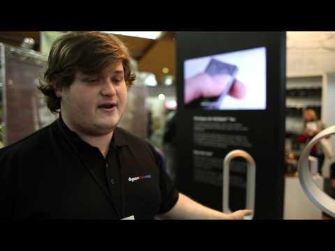 Product description of Dyson's unique bladeless fans for the home- Appliances Online