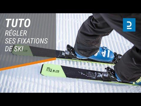 comment r gler ses fixations de skis youtube. Black Bedroom Furniture Sets. Home Design Ideas