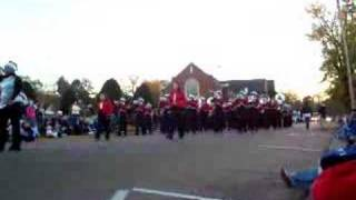 christmas parade 2007 holmes community college band