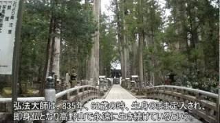 J014【和歌山】癒しの原風景 高野山金剛峯寺奥の院<ご冥福を祈る>