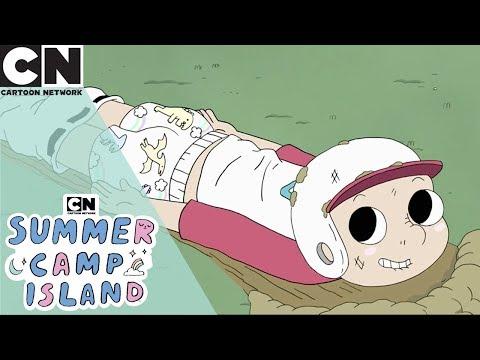 Summer Camp Island | Sinking Through Time | Cartoon Network UK