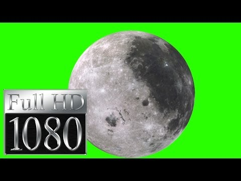 real moon footage in green screen free stock footage thumbnail
