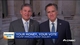 Mitt Romney: I will keep a 'completely open mind' ahead of impeachment vote