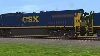 Trainz 12 Pacing CSX AC6000CW's Retirement