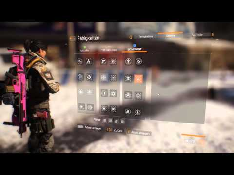 The Division  - Electronics Build German Guide with Gameplay [Hardmodemission/Challengemodeszene/DZ]